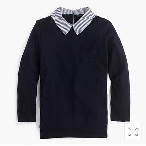 J. Crew Collared Tippi sweater